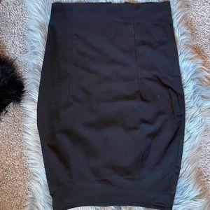 Dressy black skirt from H&M